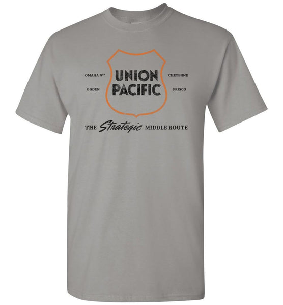 "Union Pacific Railroad T-Shirt - ""1942"" (Adult/Youth) - Ringaboy LLC-"