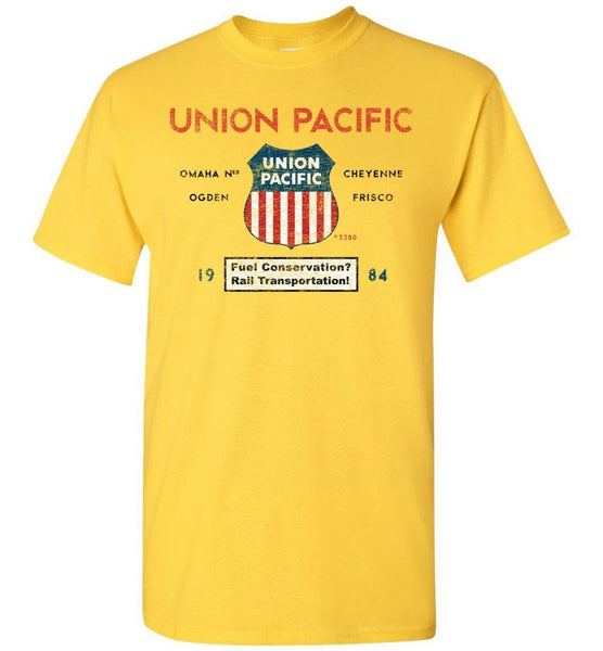 Union Pacific Railroad T-Shirt - Jeffers Streamline (Adult/Youth) - Ringaboy LLC-