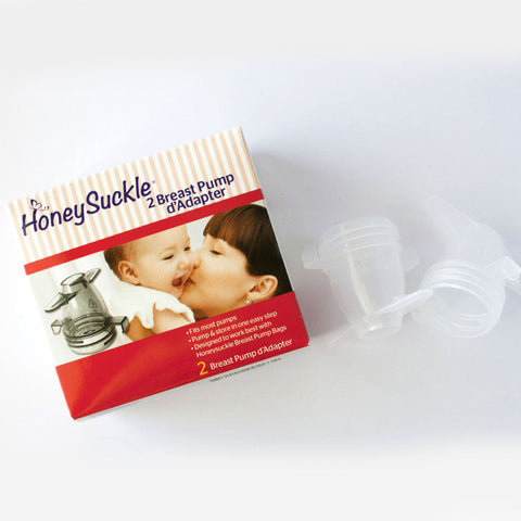 Honeysuckle® Breast Pump d'Adapter — 4-pack - Nature's Treat