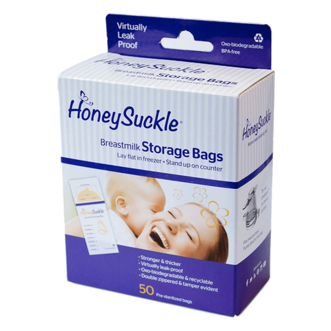 Honeysuckle Breastmilk Storage Bags - Nature's Treat