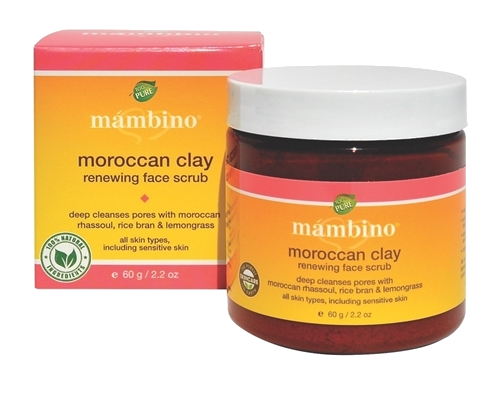 Moroccan Clay Renewing Face Scrub - Nature's Treat - 1