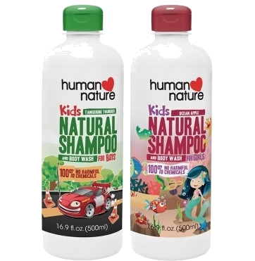 Kids Natural Shampoo & Body Wash - Nature's Treat