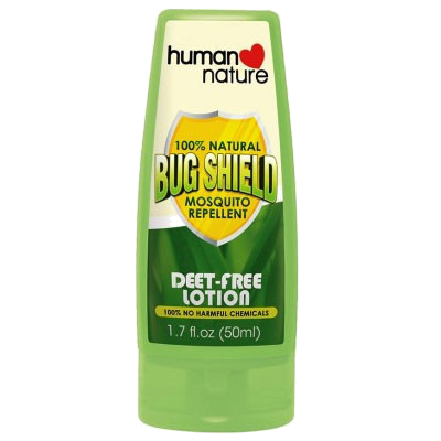 100% Natural Bug Shield Deet-free Lotion - Nature's Treat