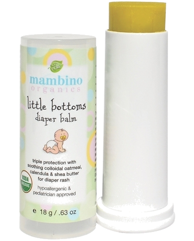 Organic Little Bottoms Diaper Balm 18g