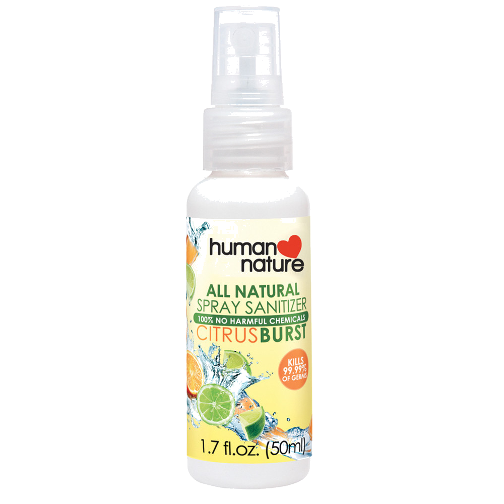 All-natural Spray Sanitizer - Nature's Treat