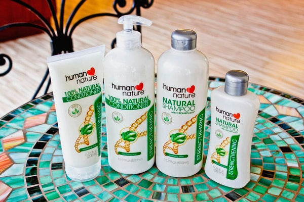 Natural Strengthening Shampoo - Nature's Treat