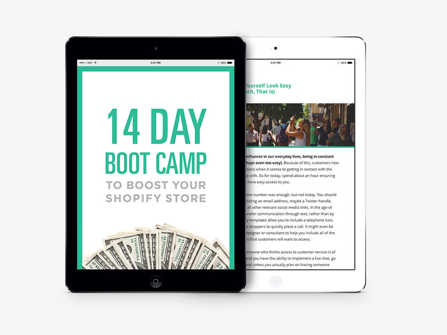 14 Day Bootcamp to Boost Your Sales - kinfizz blue-penciling