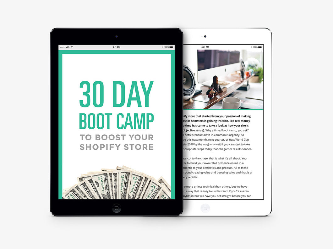 30 Day Bootcamp to Boost Your Sales - kinfizz blue-penciling