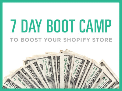 7 Day Bootcamp to Boost Your Sales - kinfizz blue-penciling
