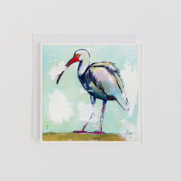 Hungry Ibis 2 Greeting Card