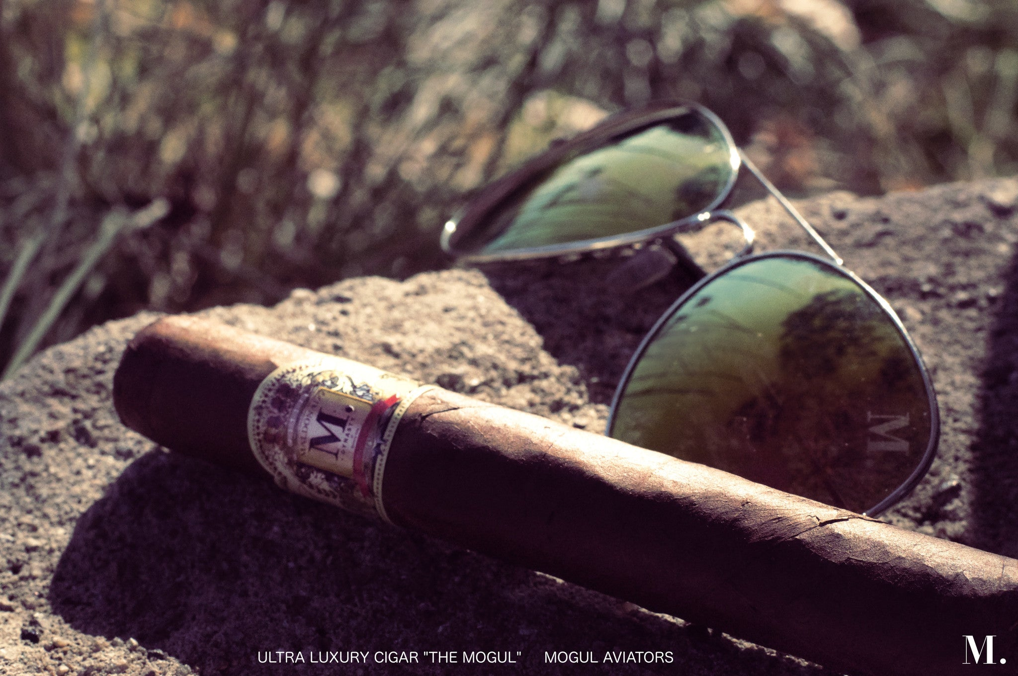 "Ultra Luxury Cigar ""The Mogul."""