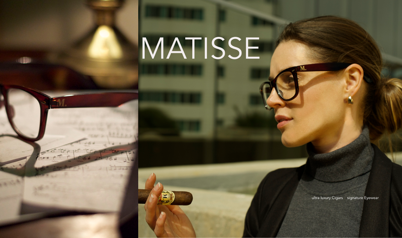 Matisse Prescription Glasses: Brown