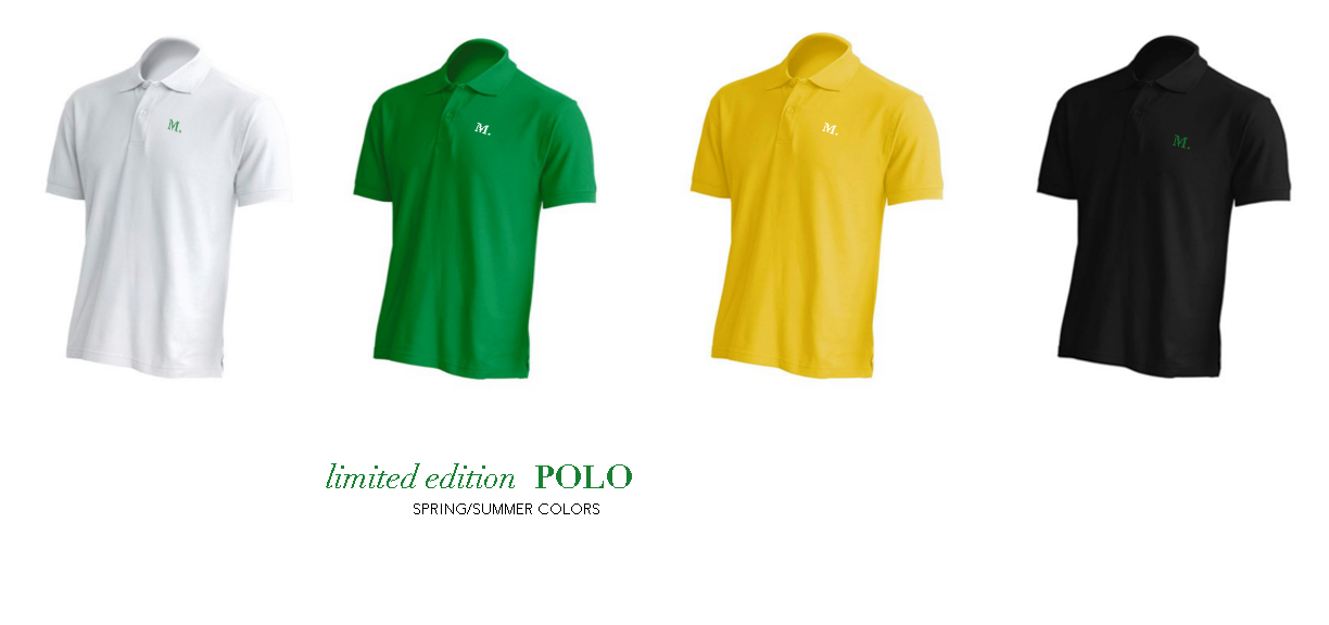 Men's Classic Polos - Limited Edition Spring/Summer 16