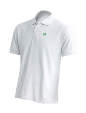 Men's Classic Polos - White Limited Edition
