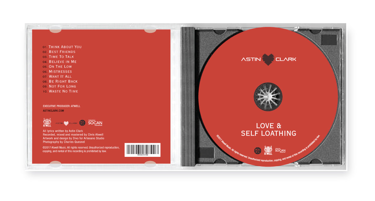 "LIMITED PRESS CD EDITION //  ""LOVE & SELF LOATHING"" ALBUM"