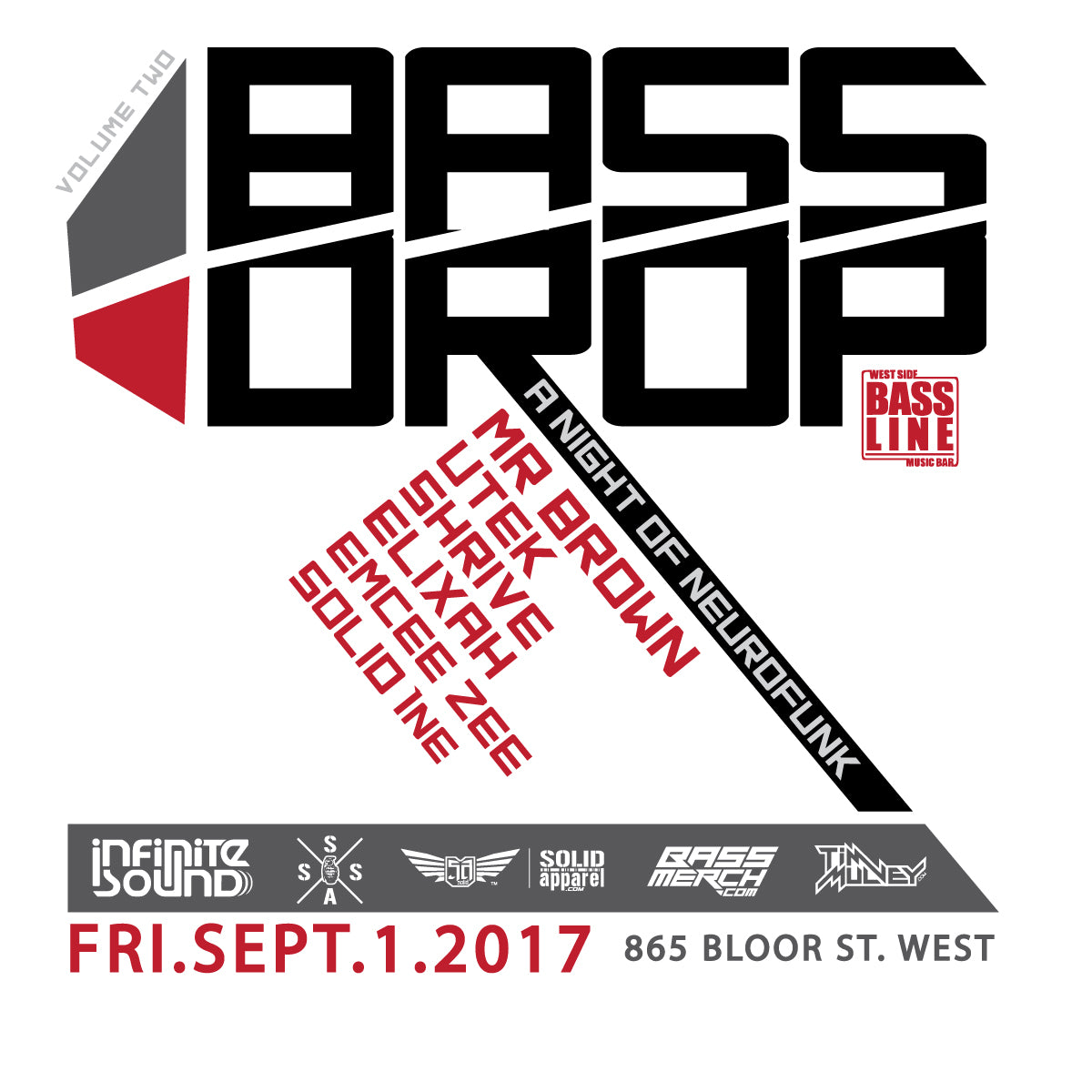 Bass Drop v.2 // Presented by Infinite Sound - eTicket