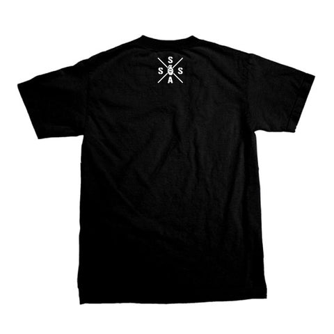 "Billey Barry ""Classic Logo"" - T-shirt - Black"