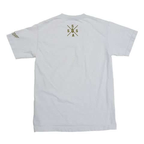 DJ BrockOut - T-shirt - White