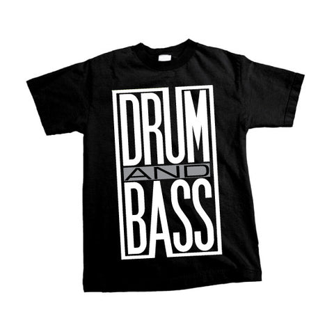 Solid Apparel - Drum & Bass - T-shirt - Black