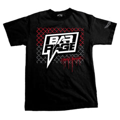"Bar Rage (UK) - ""Cage Match"" T-shirt - Black"