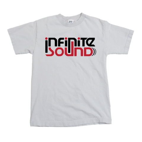 "Infinite Sound - ""Classic Logo"" - T-shirt - White"