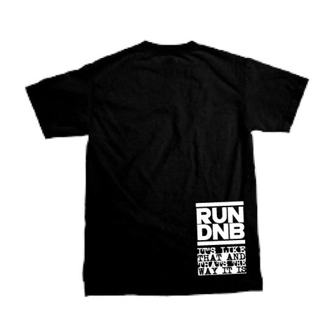 Solid Apparel - RUN DNB - T-shirt - Black