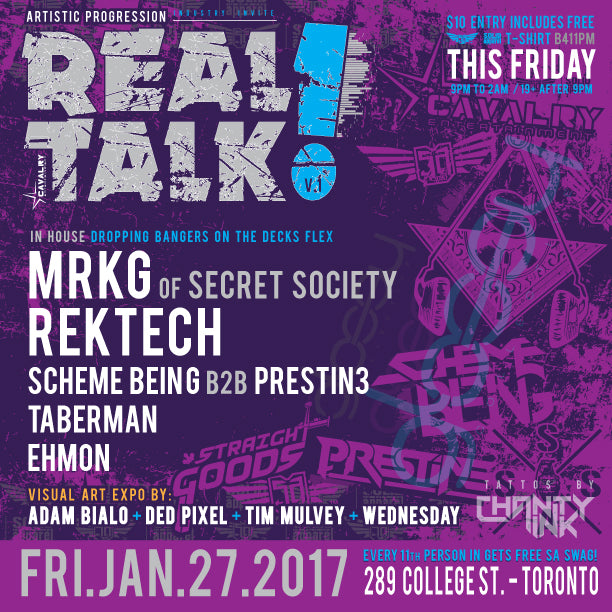 Real Talk // Presented by Cavalry Entertainment - eTicket