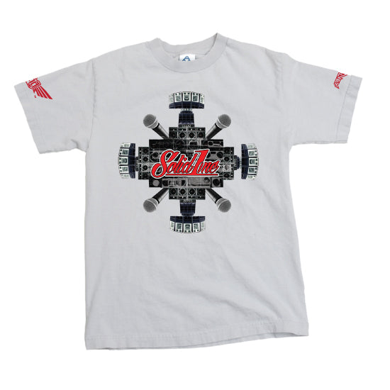 "Solid1ne ""Sound System"" - T-shirt - White"
