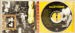 Viletones - LIMITED EDITION CD - What it feels like to kill - Solid Apparel Release with sticker pack insert