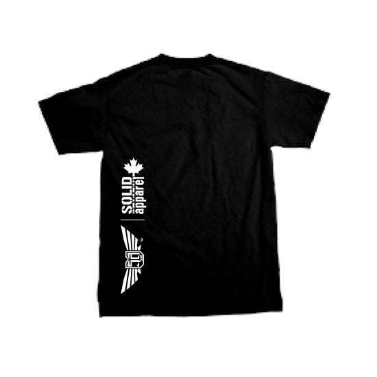Solid Apparel - Tune In - T-shirt - Black