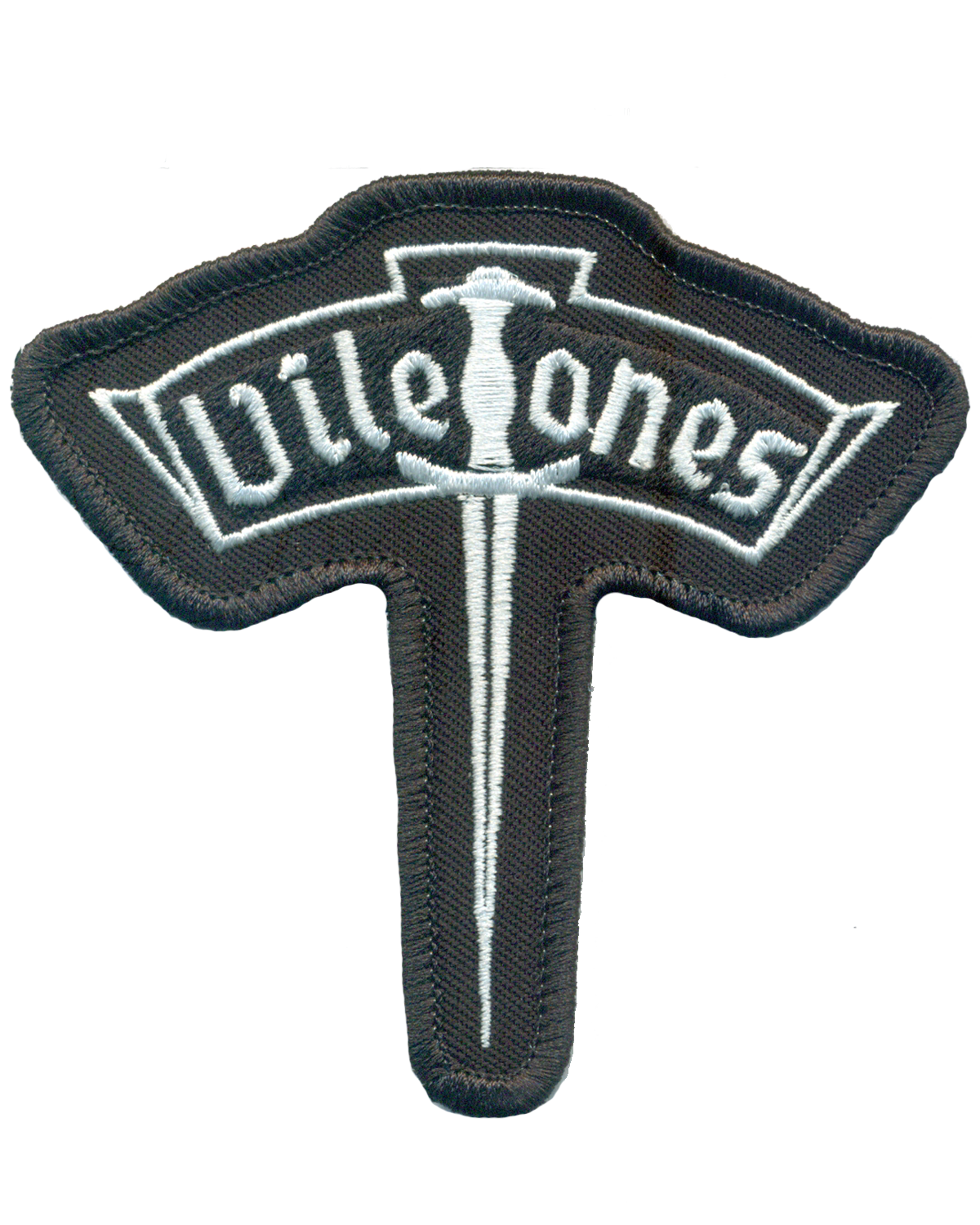 "Viletones - ""Classic"" Logo - Embroidered Patches"