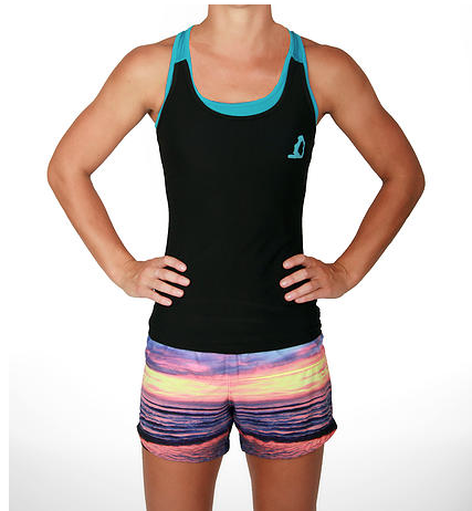SALE -Dri-Fit Singlet with Built-in Bralette