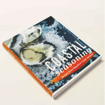 Coastal Seasoning Cookbook w / postage. Please select this item if not living locally around Merimbula, Pambula or Tathra.