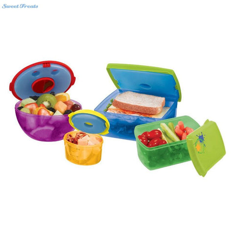 13 Piece Lunch Container with Ice Packs
