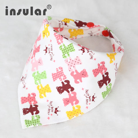 Bandana Waterproof Bib Burp Cloth