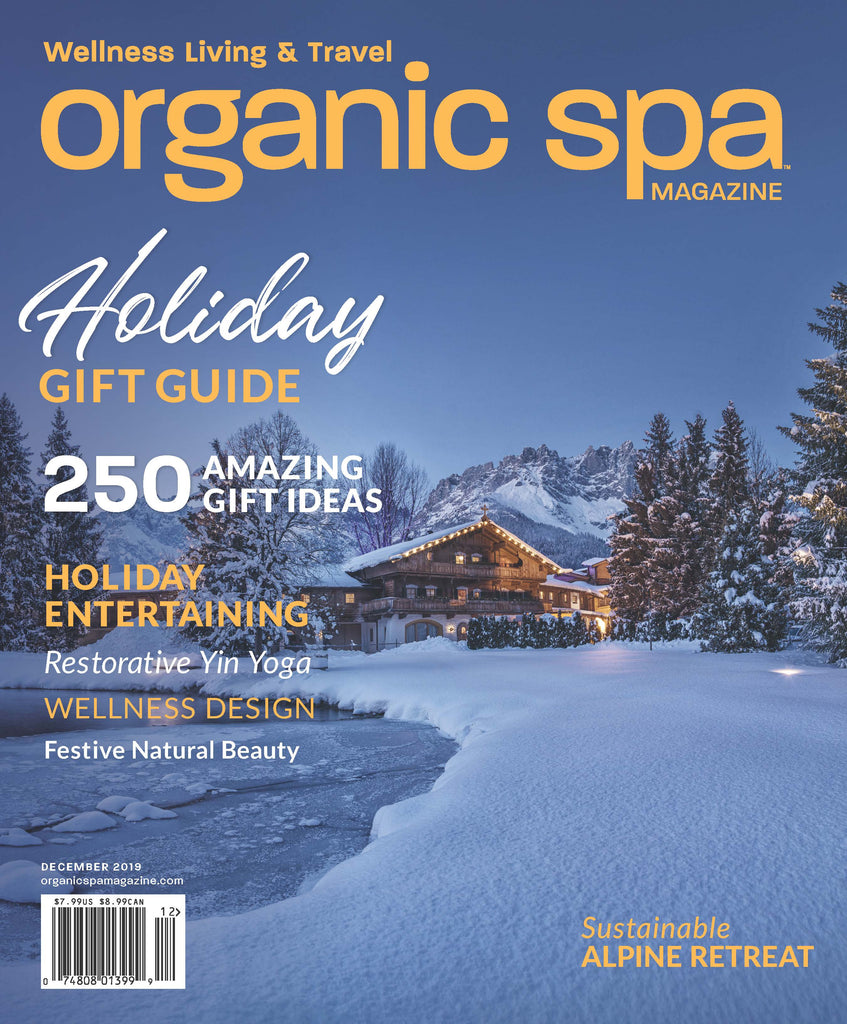 Dr Wang In Organic Spa Magazine