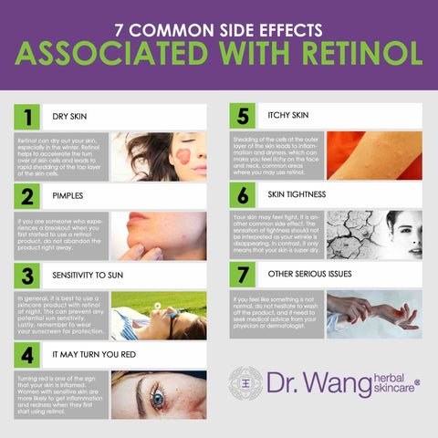 7 side effects of retinol