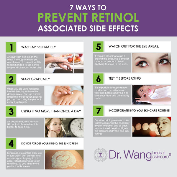 7 ways to prevent retinol side effects