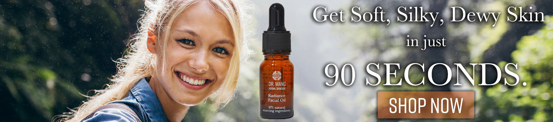 Radiance Facial Oil with Ginseng & Licorice Root