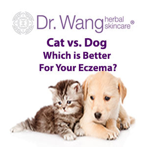 Dr Wang Skincare Cat vs Dog which is better for your eczema