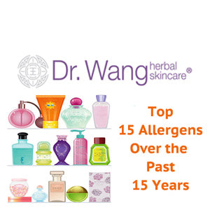 top 15 allergens in the past 15 years voted by the Contact Dermatitis Society of America