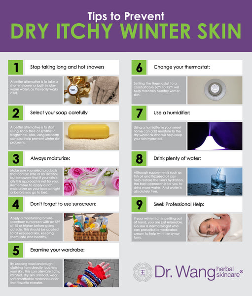 winter dry itchy skin