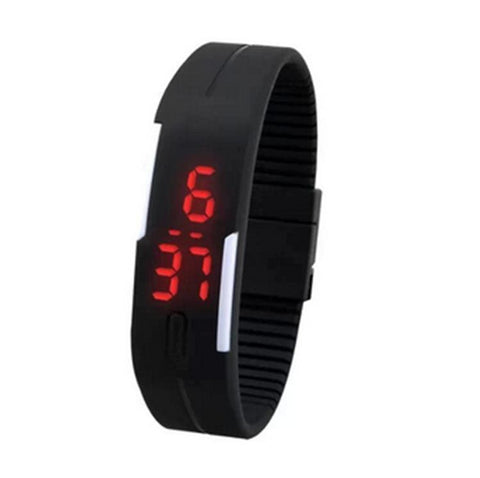 Touch Screen Fashion Stopwatch Digital Mens Watches - Available free - Pay only $6.99 Shipping! - Nonpareil Jewelry  - 3