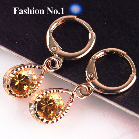 Rose Gold Filled Fashion Design Hot Romantic Earrings - Nonpareil Jewelry  - 2