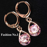 Rose Gold Filled Fashion Design Hot Romantic Earrings - Nonpareil Jewelry  - 9