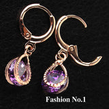 Rose Gold Filled Fashion Design Hot Romantic Earrings - Nonpareil Jewelry  - 5