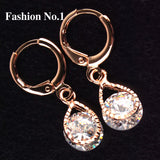 Rose Gold Filled Fashion Design Hot Romantic Earrings - Nonpareil Jewelry  - 6