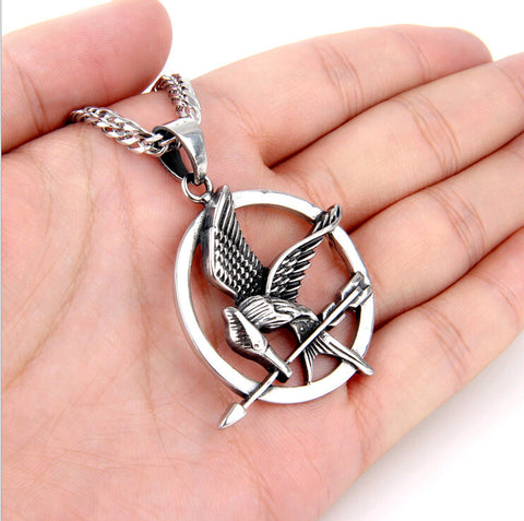 FREE ITEM! Designer Hunger Games Mocking Jay Necklace. Available in three colors for a limited time only! - Nonpareil Jewelry  - 1