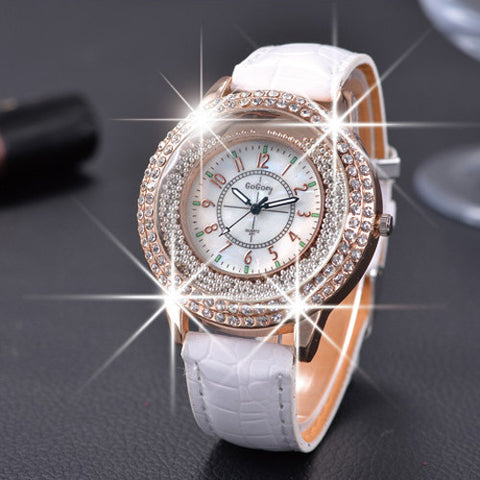 New Fashion Ladies Leather Quartz Wristwatch - Nonpareil Jewelry  - 1