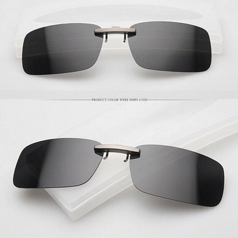 Brand New Polarized Clip On Sunglasses, Driving Glasses, and Fashion Shades - Nonpareil Jewelry  - 3